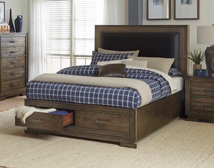 Homelegance Griffon Brown Queen Bed Available Online in Dallas Fort Worth Texas