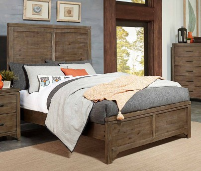 Homelegance Lyer Brown Panel King Bed Available Online in Dallas Fort Worth Texas
