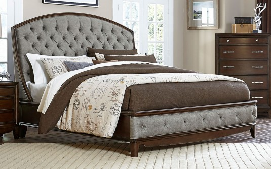 Homelegance Yorklyn Cherry Queen Bed Available Online in Dallas Fort Worth Texas