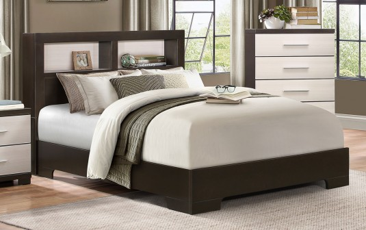 Homelegance Pell Espresso Queen Bed Available Online in Dallas Fort Worth Texas