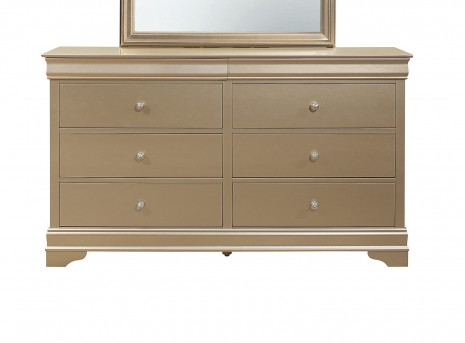 Homelegance Abbeville Gold Dresser Available Online in Dallas Fort Worth Texas
