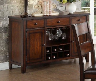 Homelegance Mantello Cherry Server Available Online in Dallas Fort Worth Texas