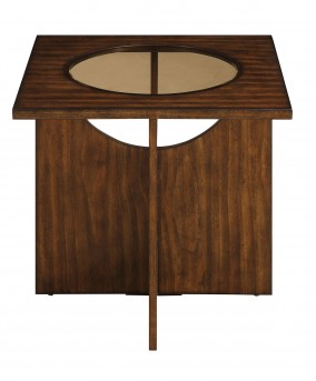 Homelegance Akita Cherry End Table Available Online in Dallas Fort Worth Texas