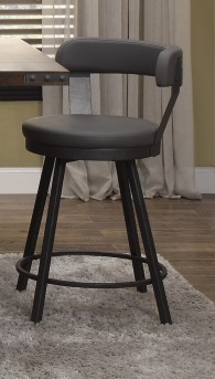 Homelegance Appert Grey Swivel Pub Height Chair Available Online in Dallas Fort Worth Texas