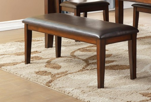 Homelegance Mantello Cherry Bench Available Online in Dallas Fort Worth Texas