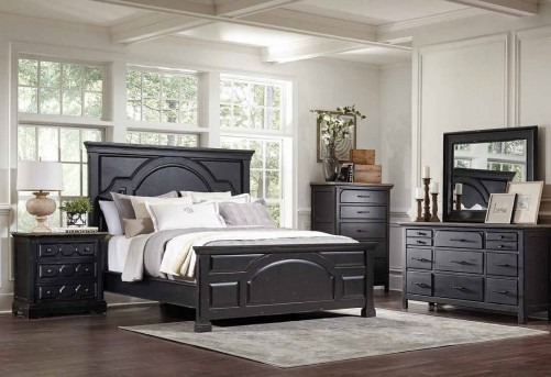 Coaster Wintho 5pc Black Queen Bedroom Group Available Online in Dallas Fort Worth Texas