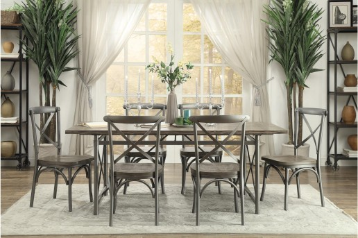 Homelegance Springer 7pc Dining Room Set Available Online in Dallas Fort Worth Texas