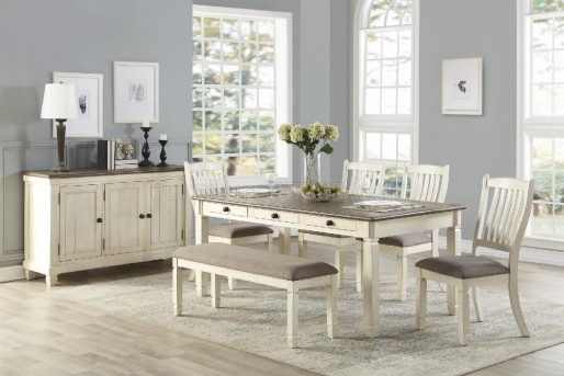 Homelegance Willow Bend 6pc Dining Room Set Available Online in Dallas Fort Worth Texas