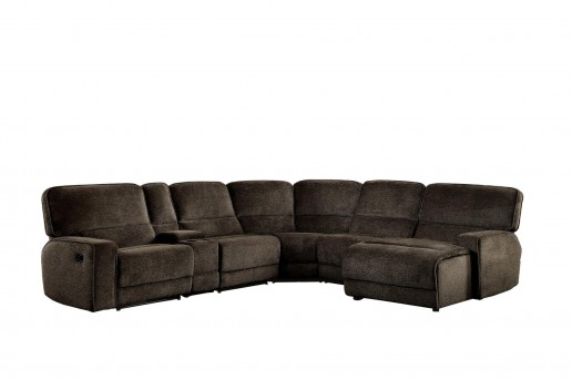 Homelegance Shreveport 6pc Right Arm Facing Chaise Sectional Available Online in Dallas Fort Worth Texas