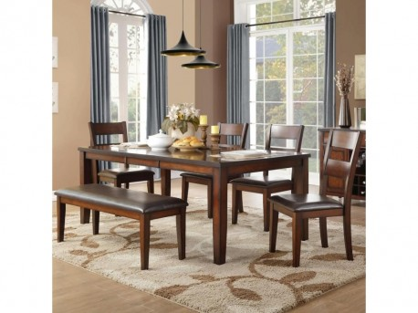 Homelegance Mantello 6pc Dining Room Set Available Online in Dallas Fort Worth Texas