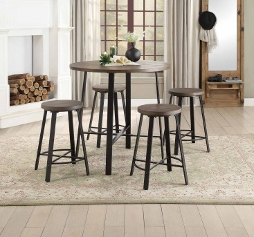 Homelegance Chevre 5pc Counter Height Set Available Online in Dallas Fort Worth Texas