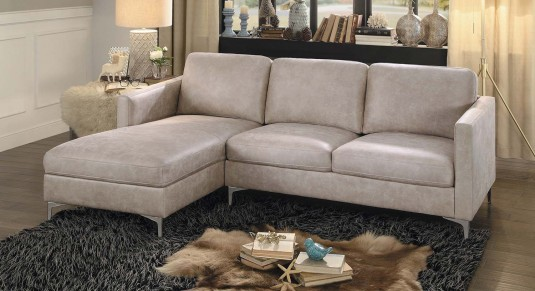 Homelegance Breaux 2pc Left Side Chaise Sectional Available Online in Dallas Fort Worth Texas