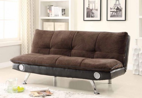 Coaster Bluetooth Brown Sofa Bed Available Online in Dallas Fort Worth Texas