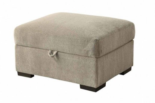 Coaster Olson Taupe Storage Ottoman Available Online in Dallas Fort Worth Texas