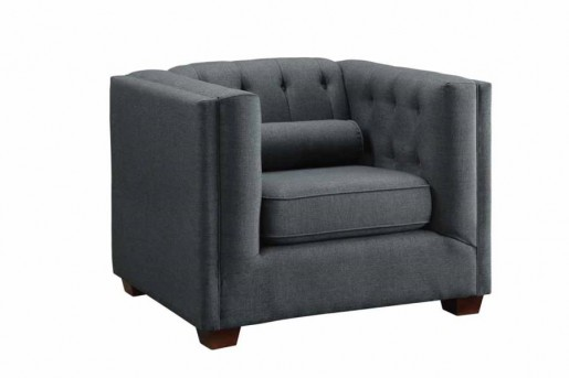 Coaster Cairns Charcoal Chair Available Online in Dallas Fort Worth Texas