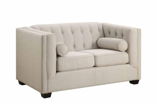 Coaster Cairns Oatmeal Loveseat Available Online in Dallas Fort Worth Texas