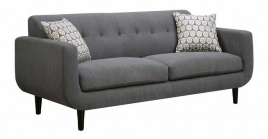 Coaster Stansall Grey Sofa Available Online in Dallas Fort Worth Texas