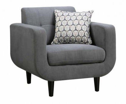 Coaster Stansall Grey Chair Available Online in Dallas Fort Worth Texas