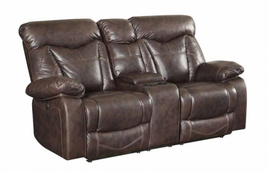 Coaster Zimmerman Power Glider Reclining Loveseat Available Online in Dallas Fort Worth Texas