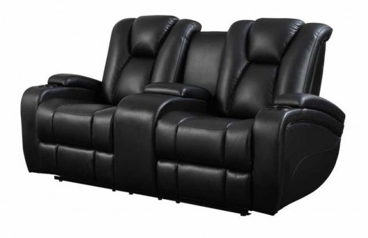 Coaster Delange Power Reclining Loveseat Available Online in Dallas Fort Worth Texas