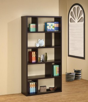 Coaster Credenza Open Storage Bookcase Available Online in Dallas Fort Worth Texas