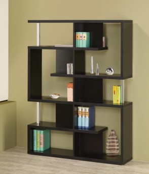 Coaster Brandy Black Bookcase Available Online in Dallas Fort Worth Texas