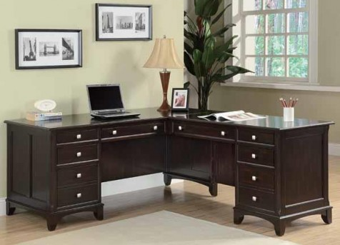 Coaster Garson L Shape Desk Available In Dallas Fort Worth Texas