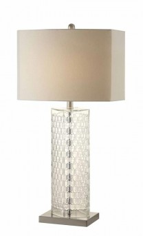 Coaster Classy Glass Table Lamp Available Online in Dallas Fort Worth Texas