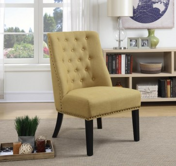 Coaster Martin Yellow Chair Available Online in Dallas Fort Worth Texas