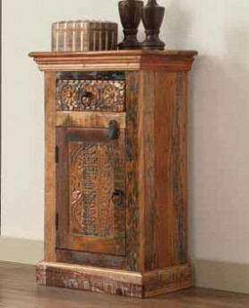 Coaster Reclaimed Petite Accent Cabinet Available Online in Dallas Fort Worth Texas