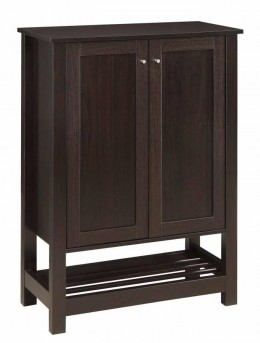 Coaster Eclectic Cappuccino Shoe Cabinet Available Online in Dallas Fort Worth Texas