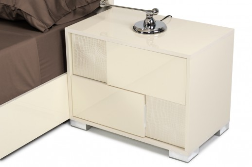 VIG Ancona Beige Nightstand Available Online in Dallas Fort Worth Texas