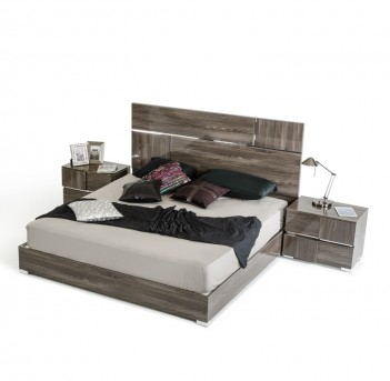 VIG Picasso Grey Lacquer Bed Available Online in Dallas Fort Worth Texas
