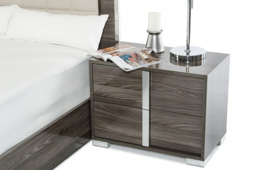 VIG San Marino Grey Nightstand Available Online in Dallas Fort Worth Texas