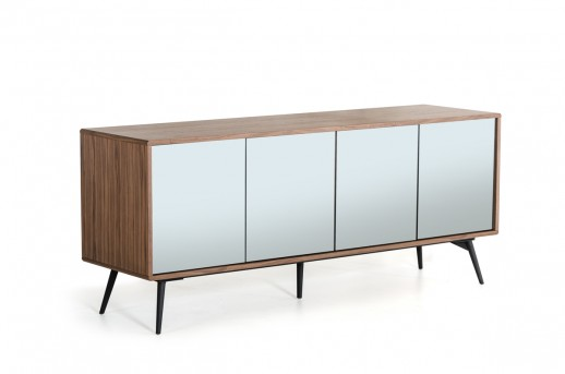 VIG Kennedy Walnut Buffet Available Online in Dallas Fort Worth Texas