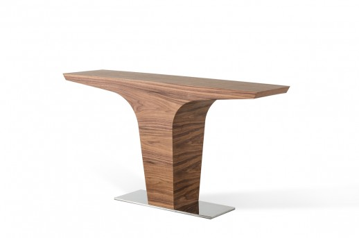 VIG Bismarck Walnut Console Table Available Online in Dallas Fort Worth Texas