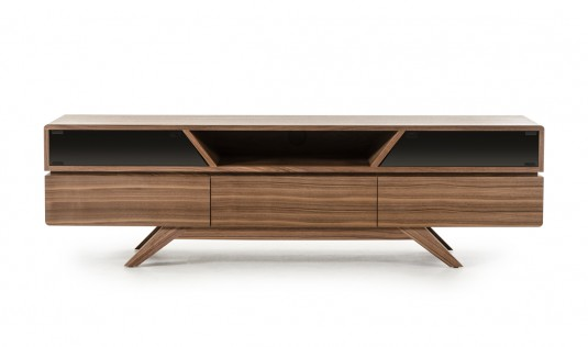 VIG Nova Domus Soria Walnut TV Stand Available Online in Dallas Fort Worth Texas