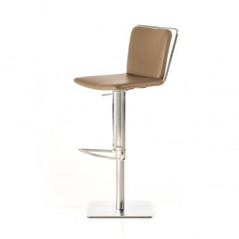 VIG Nora Taupe Leatherette Bar Stool Available Online in Dallas Fort Worth Texas