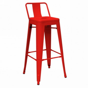 VIG Dink Red Metal Counter Height Stool Available Online in Dallas Fort Worth Texas
