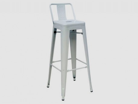 VIG Dink White Metal Counter Height Stool Available Online in Dallas Fort Worth Texas