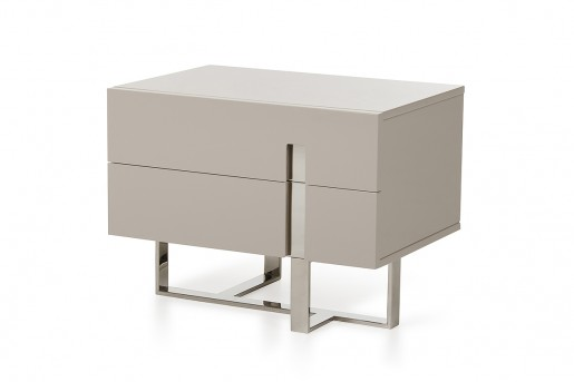 VIG Voco Grey Nightstand Available Online in Dallas Fort Worth Texas