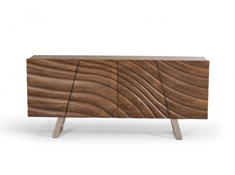 VIG Finley Walnut Buffet Available Online in Dallas Fort Worth Texas