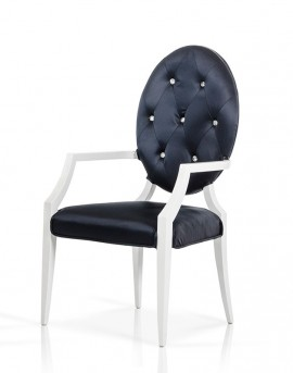 VIG Versus Bella Black Fabric Dining Chair Available Online In Dallas Fort  Worth Texas