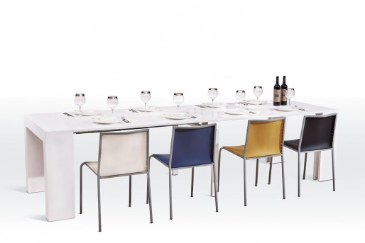 VIG Versus Doreen White Extendable Dining Table Available Online in Dallas Fort Worth Texas