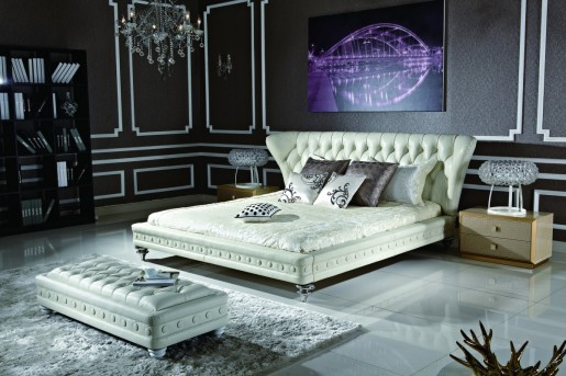 VIG Modrest 1191 Bonded Leather Bed Available Online in Dallas Fort Worth Texas