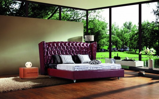 VIG Modrest 500R Eco-leather Bed Available Online in Dallas Fort Worth Texas