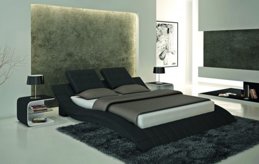 VIG Modrest S606 Black Eco-leather Bed Available Online in Dallas Fort Worth Texas