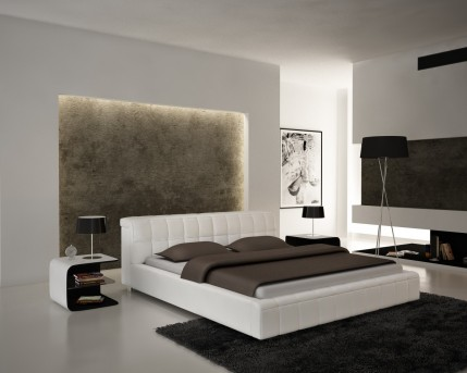 VIG Modrest S612 White Eco-leather Bed Available Online in Dallas Fort Worth Texas