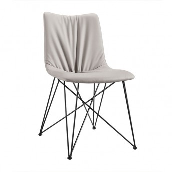 VIG Naomi Grey Leatherette Dining Chair Available Online in Dallas Fort Worth Texas