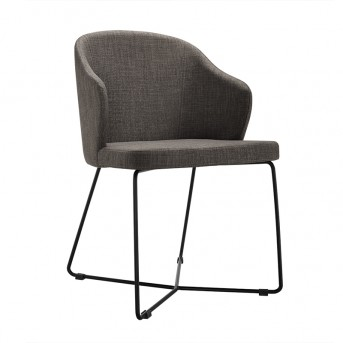 VIG Gia Grey Fabric Dining Chair Available Online in Dallas Fort Worth Texas